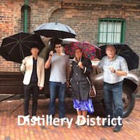 Toronto Distillery District Team Building Scavenger Hunt