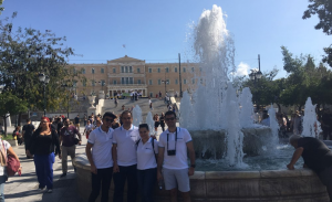 Athens - a great location for a scavenger hunt!