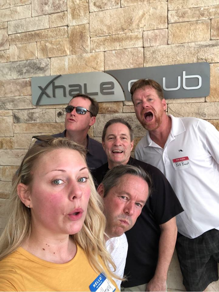 Corporate team building scavenger hunt at Breathless Resort in Cancun